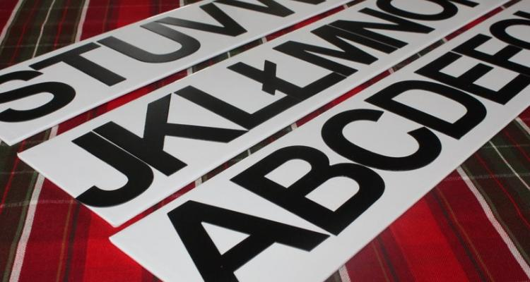 alfabet ruchomy