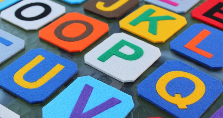 literki magnetyczne z filcem