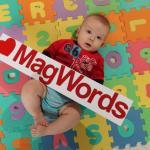 zestaw MagWords Primo zawiera Wielki i małe litery 8 cm