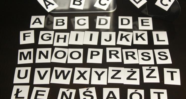 Komplet literek magnetycznych