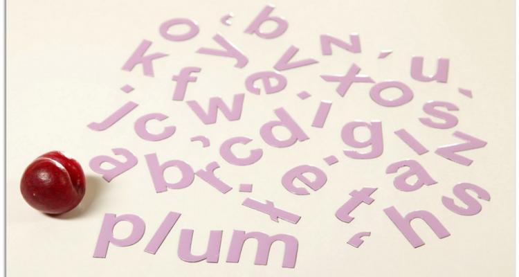 Alfabet MagWords można również wykorzystać w nauce języka angielskiego.