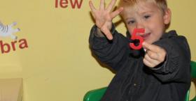 Magnetyczny zestaw MagWords do nauki liczenia dla dzieci od lat 3.